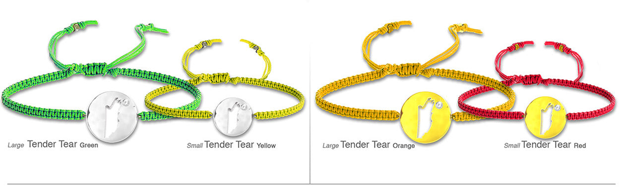 Belize Bracelets Tender Tear
