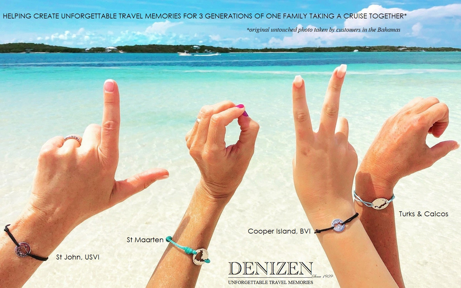 DENIZEN jewelry of the Caribbean islands