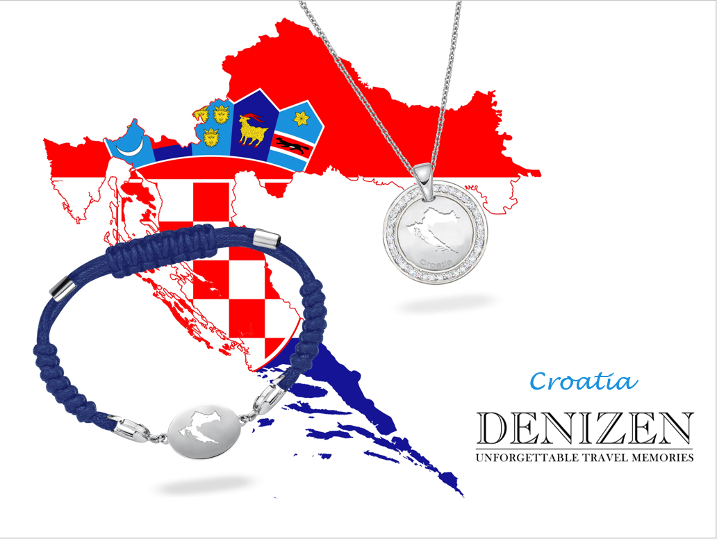 denizen bracelet and necklace of croatia