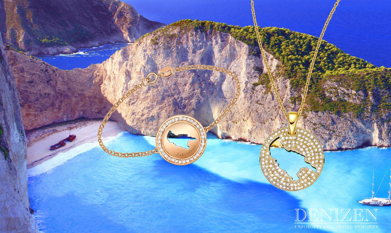 DENIZEN Bracelet of Zakynthos - Greece - gold jewelry