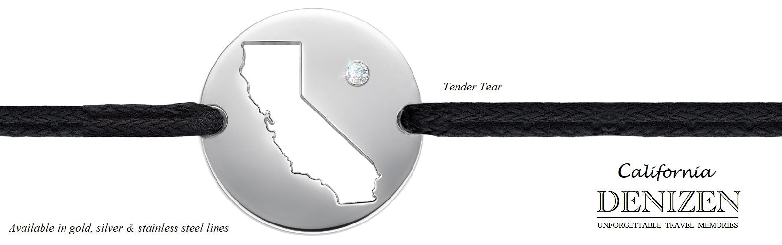 DENIZEN jewelry - bracelet of California