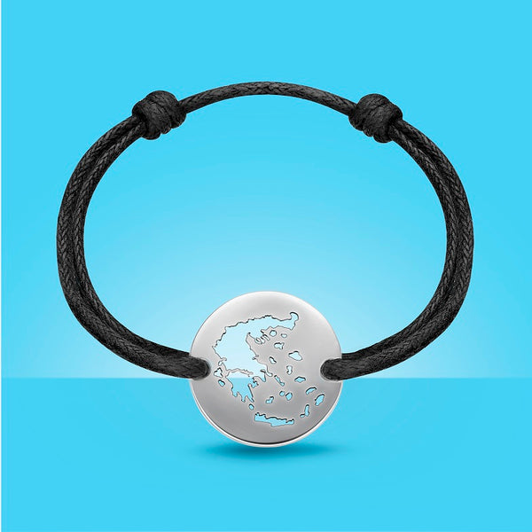 DENIZEN Bracelet of Greece - Pure design unisex model in sterling silver