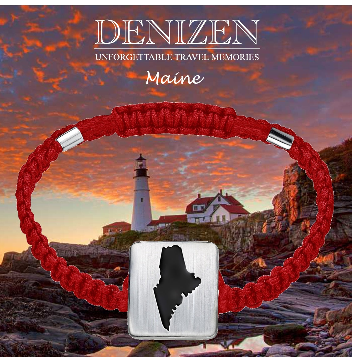 DENIZEN jewelry - Bracelet of Maine