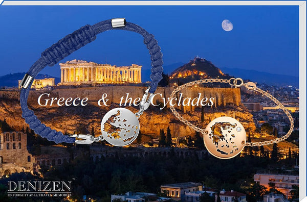 Denizen bracelet of Greece and the Cyclades