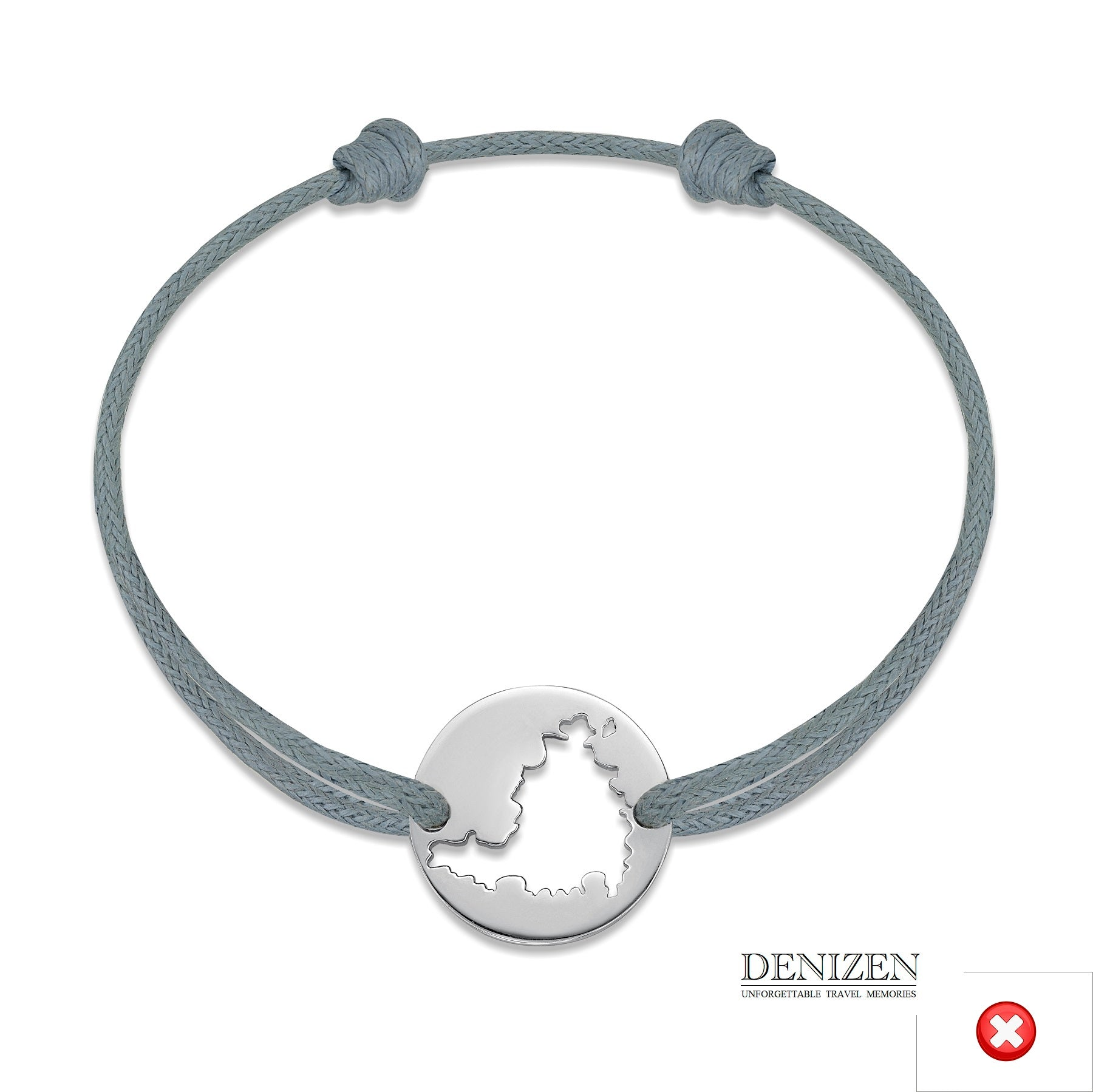 DENIZEN Bracelet Grey color #128