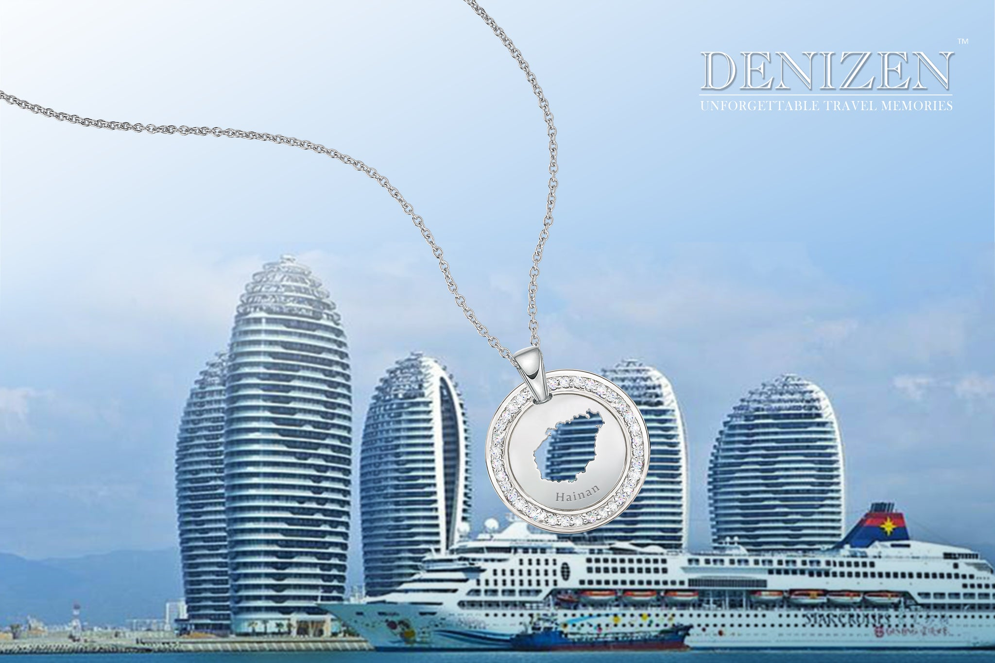 Denizen necklace of Hainan