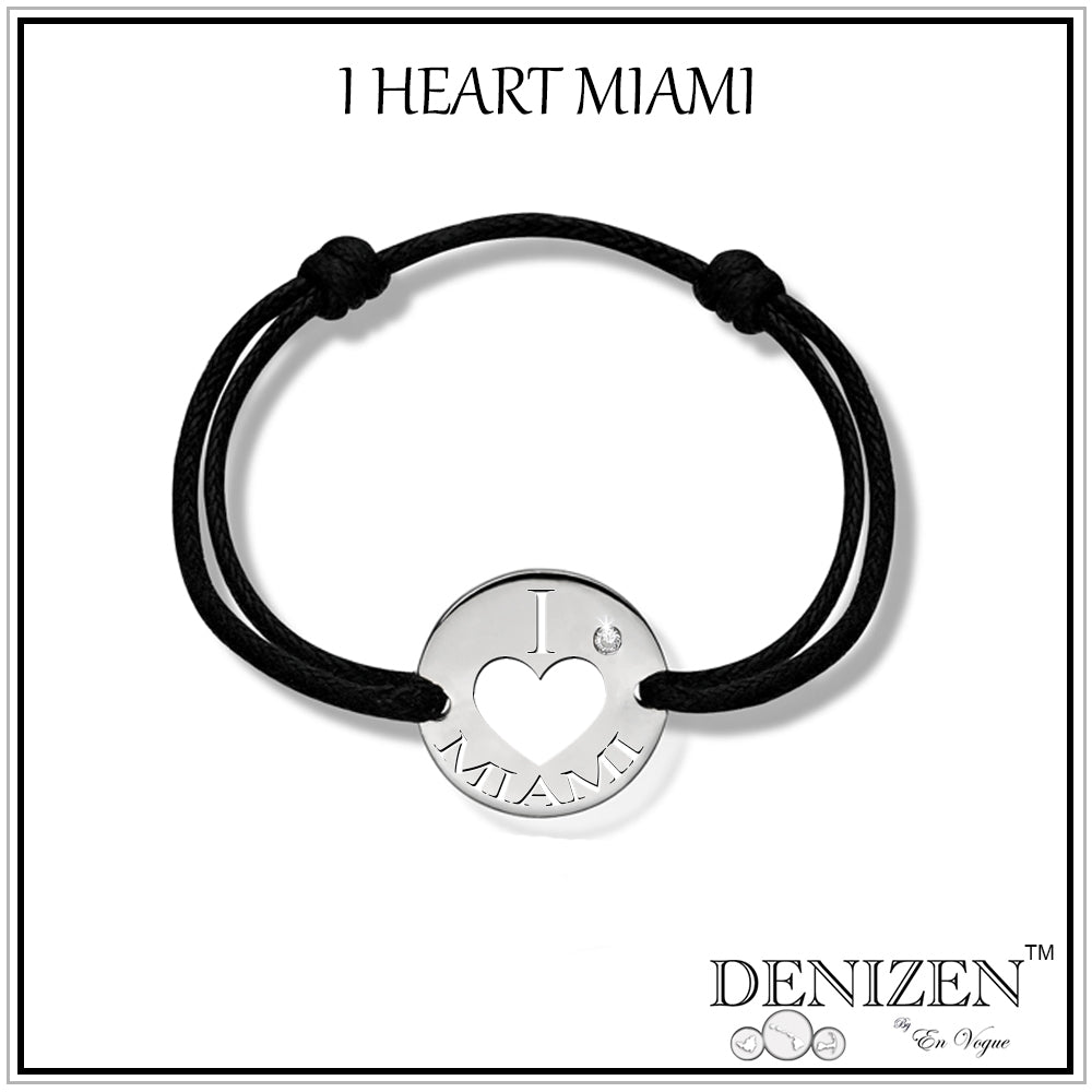 I Love Miami Bracelet by Denizen