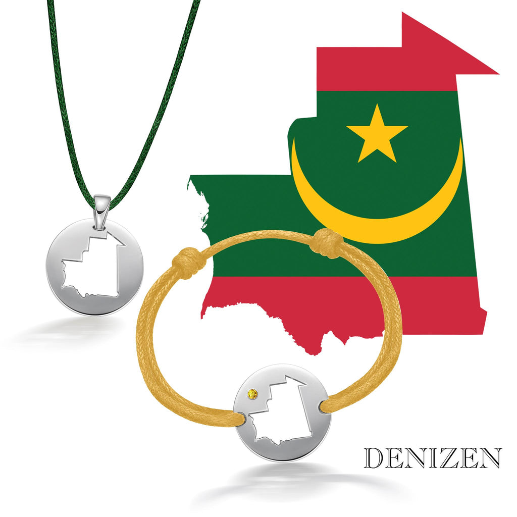 denizen bracelet and necklace of mauritania