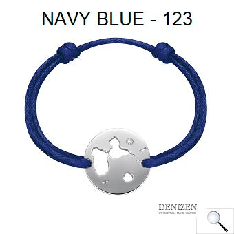 DENIZEN Bracelet Navy blue color - 123