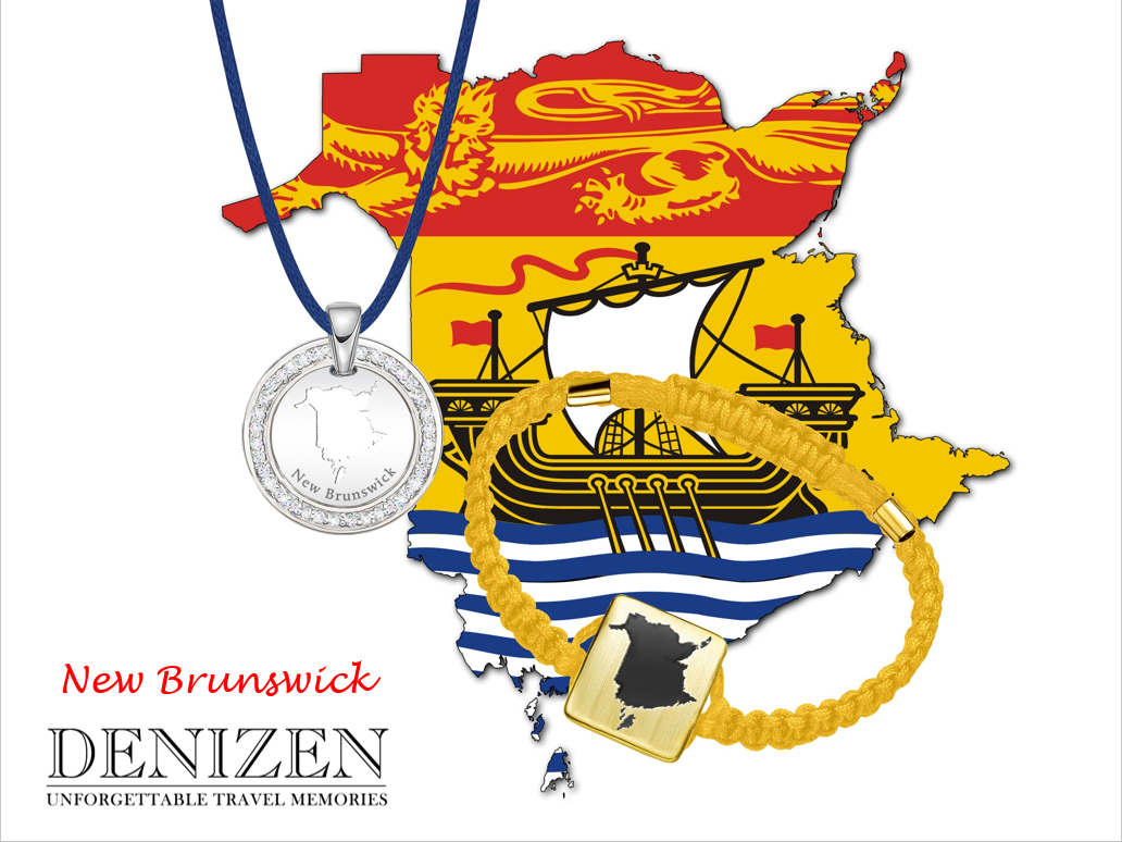 denizen bracelet and necklace of new brunswick
