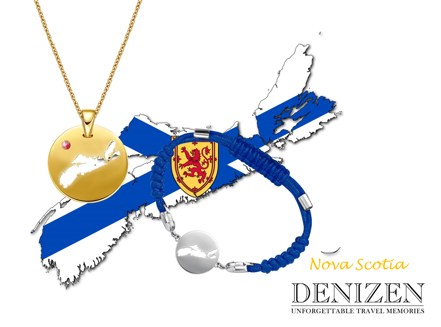 denizen bracelet and necklace of Nova Scotia