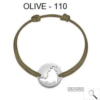 DENIZEN Bracelet - Olive color #110