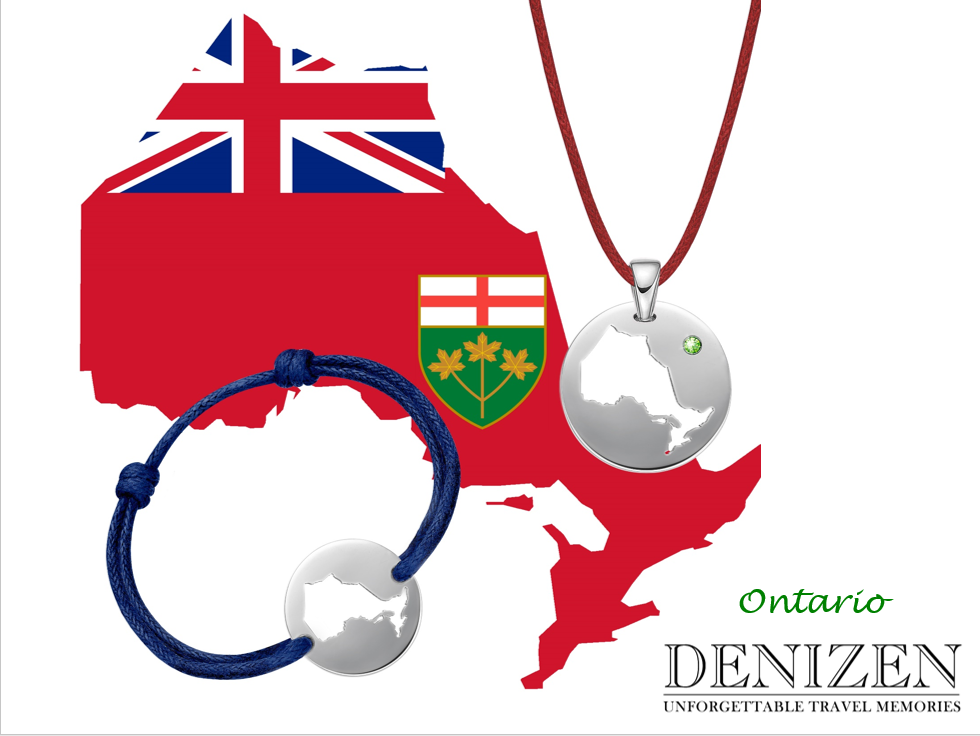 denizen bracelet and necklace of Ontario