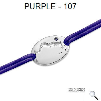 DENIZEN Bracelet - Purple color #107