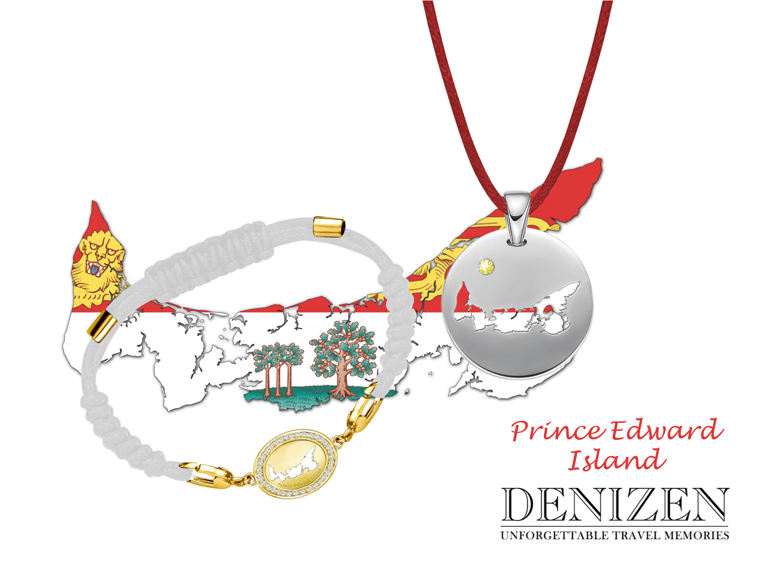 denizen bracelet and necklace of Prince Edward Island