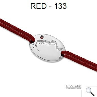 DENIZEN Bracelet Red color - 133