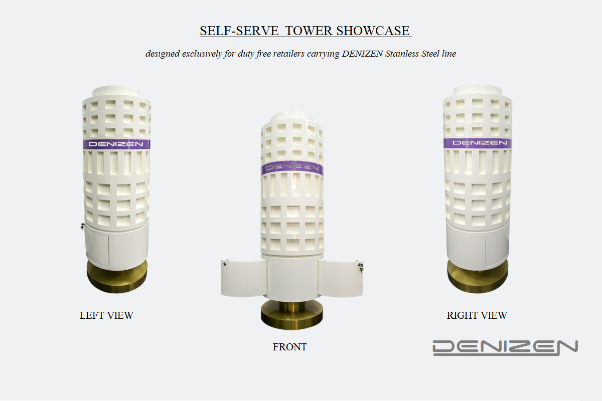 DENIZEN Bracelet  self-serve tower showcase