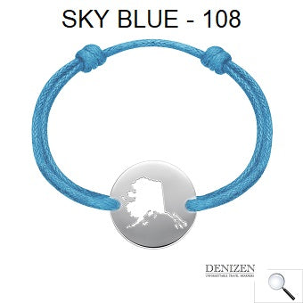 DENIZEN Bracelet - sky blue color #108