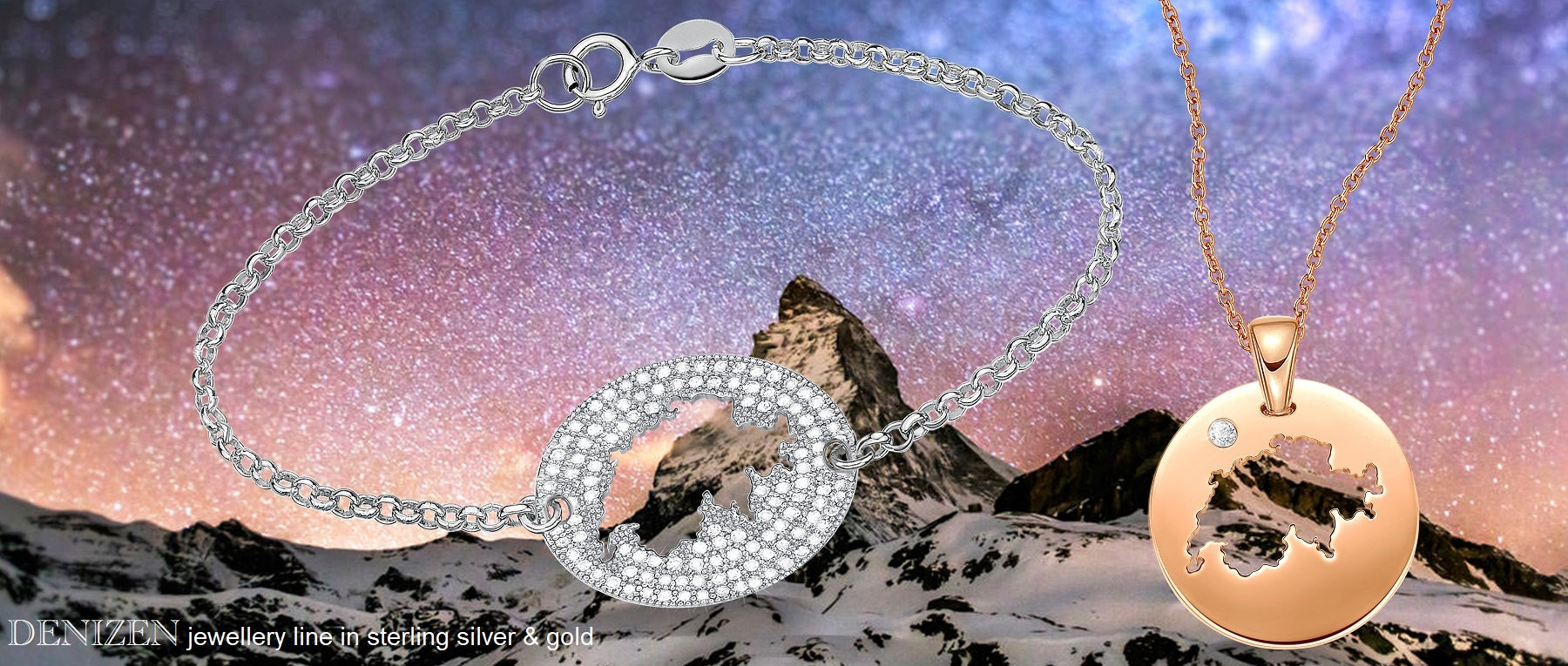 DENIZEN Bracelet of Switzerland a souvenir jewelry for zermatt