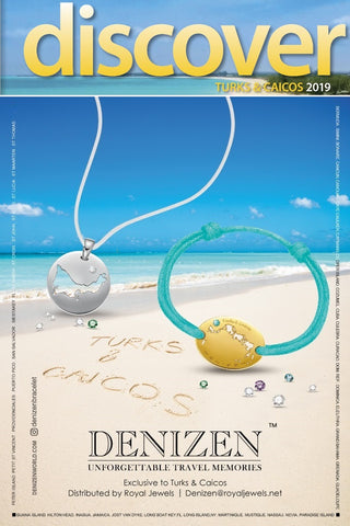 Denizen bracelet of Turks and Caicos advertised on Discover Magazine