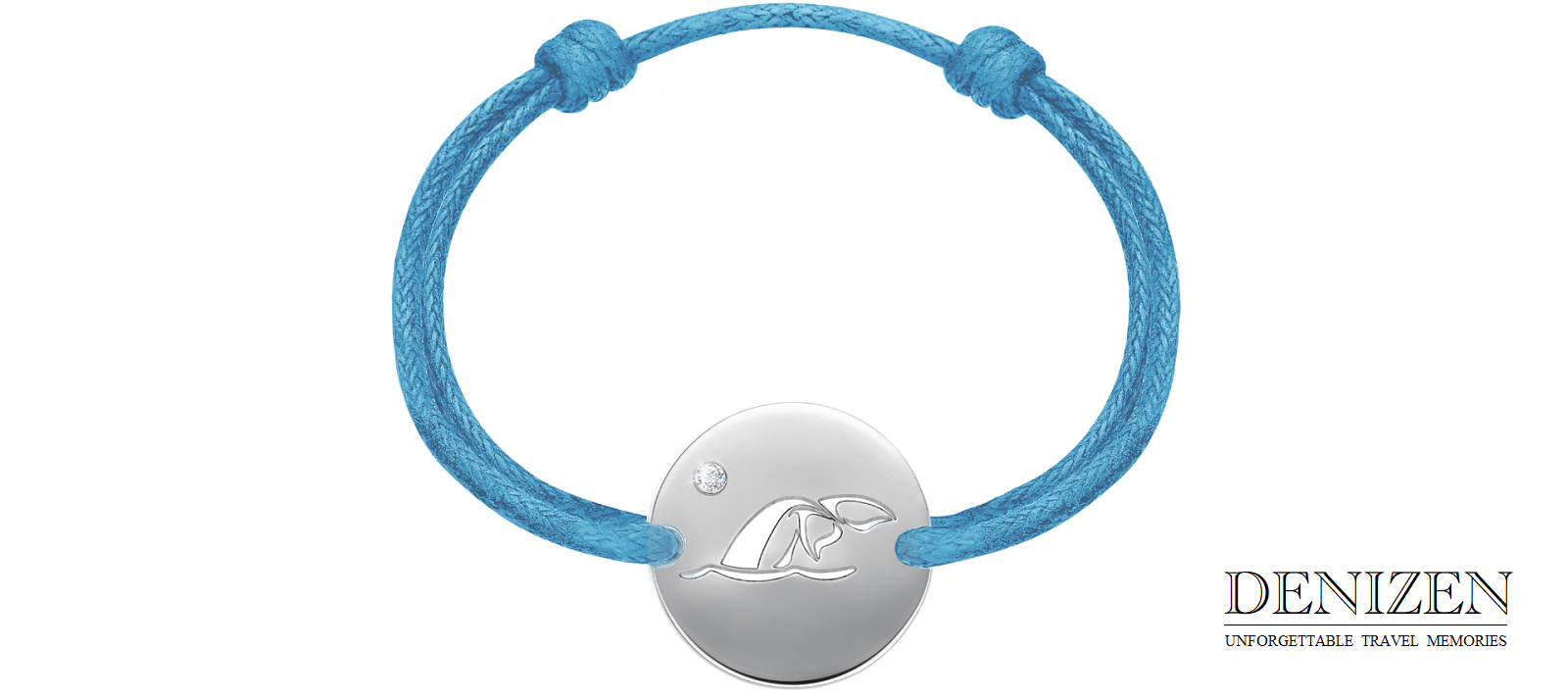 Whale tail of DENIZEN bracelet