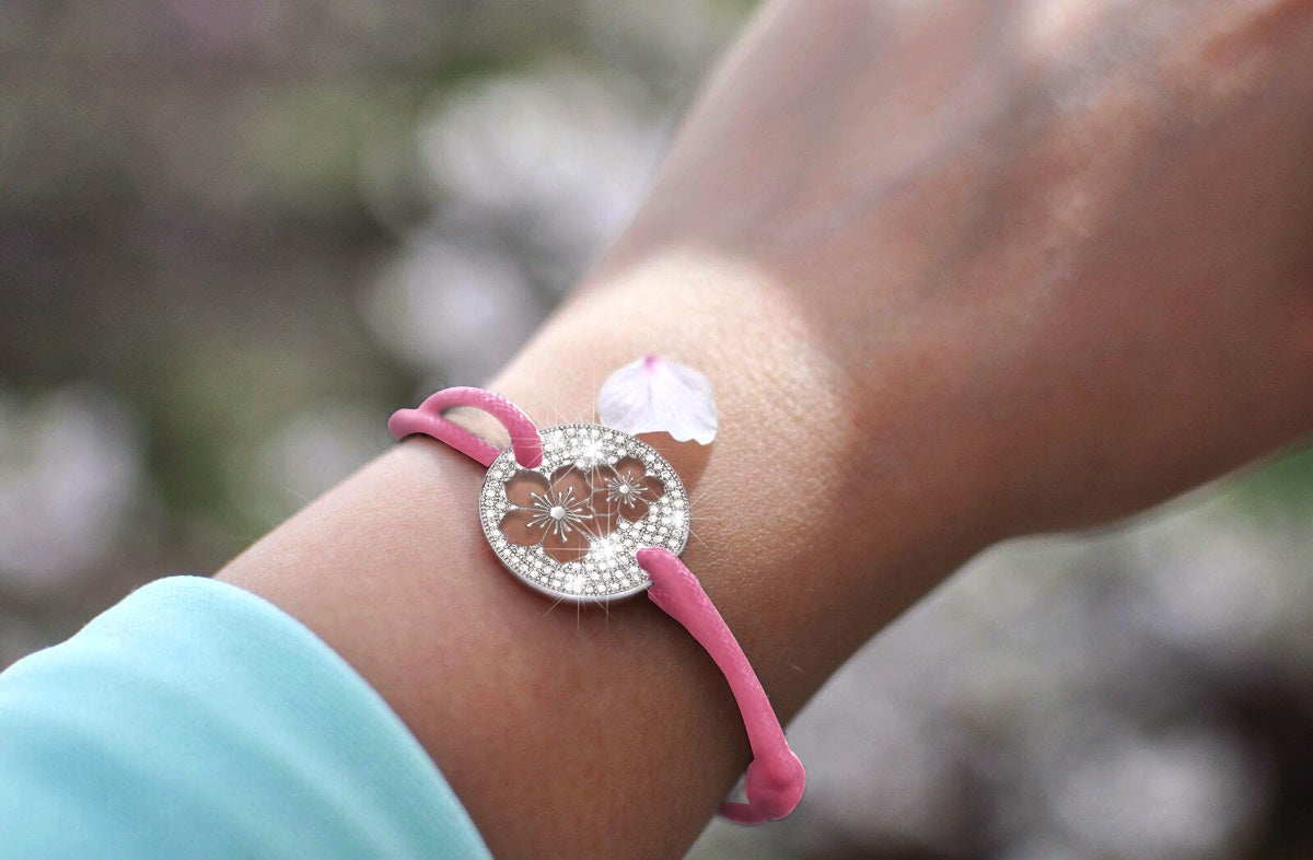denizen bracelet of cherry blossom sakura