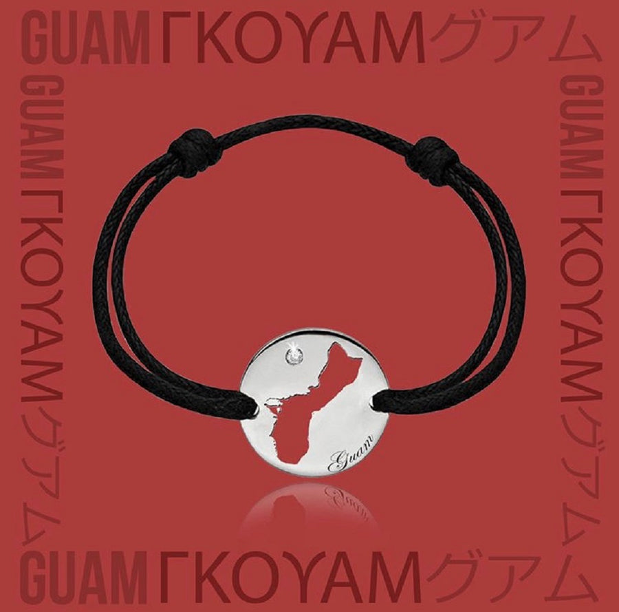 DENIZEN NECKLACE OF GUAM MAP