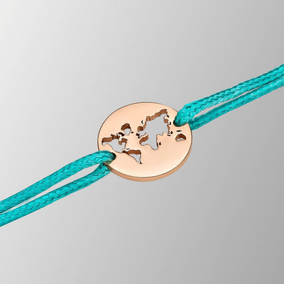 DENIZEN BRACELET OF THE WORLD MAP