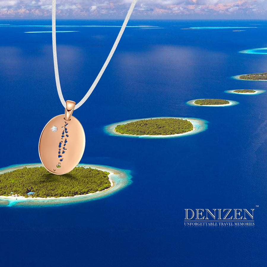 DENIZEN PENDANT NECKLACE OF MALDIVES