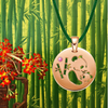 DENIZEN PENDANT NECKLACE OF PANDAS