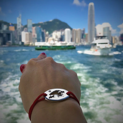 DENIZEN BRACELET OF HONG KONG MAP