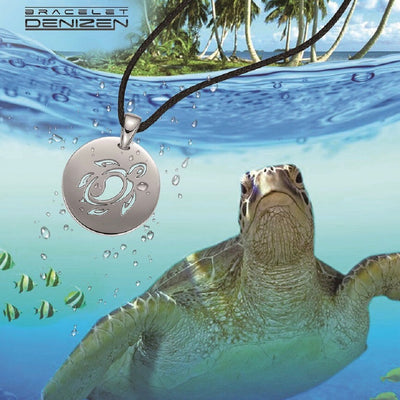 DENIZEN TURTLE PENDANT NECKLACE