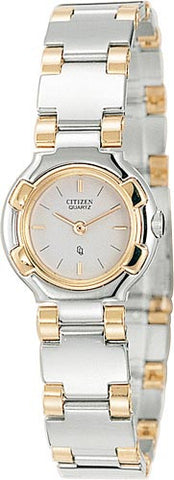 BAND ONLY: VERY LIGHTLY SCRATCHED Citizen watch Bracelet Two Tone Stainless Steel Part # 59-72547