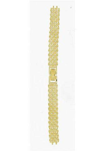 BAND & PINS COMBO: Citizen Watch Bracelet Gold Tone  Stainless Steel   Part # 59-76629 with Band to Case Pins