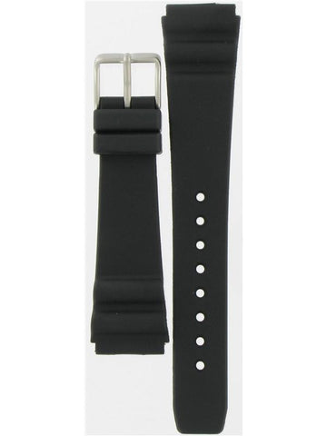 BAND ONLY: Citizen Watch Strap Black Rubber Part # 59-G0009