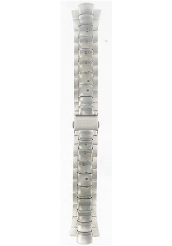 ** DISCONTINUED **  BAND & PINS COMBO: Citizen  Watch Bracelet Silver   Tone  Titanium  Part # 59-K1219 with Band to Case Pins