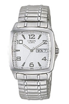 BAND & PINS COMBO: Citizen watch Bracelet Silver Tone Stainless Steel Part # 59-S00897 With Band to Case Pins