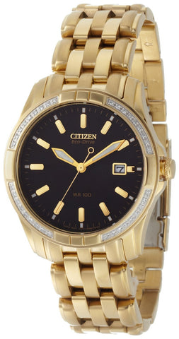 BAND & PINS COMBO: Citizen Watch Bracelet Gold Tone Stainless Steel Part # 59-S04044 With Band to Case Pins