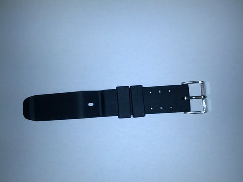 * * * EXTENDER ONLY * * *  Citizen Watch Strap Black Rubber Part # 59-S50383 For Part # 59-S50342
