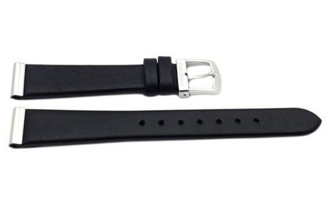 BAND ONLY:Citizen  Watch Band Black   Leather  15MM Part # 59-S50843