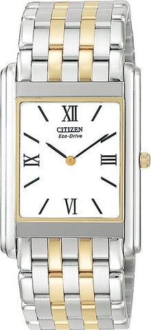 BAND & PINS COMBO: Citizen Watch Bracelet Two Tone Stainless Steel Part # 59-T00087 With Band to Case Pins