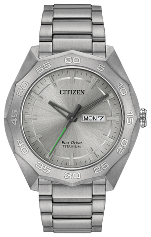 ** NEW SLIGHTLY SCRATCHED 25% OFF **  BAND & PINS COMBO: Citizen Watch Bracelet Silver Tone Titanium Part # 59-R00403 With Band to Case Pins