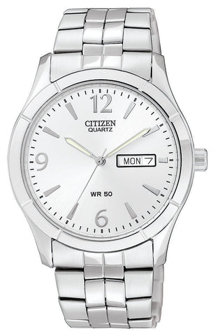 BAND & PINS COMBO: Citizen Watch Bracelet Silver Tone Stainless Steel Part # 59-S05358 With Band to Case Pins