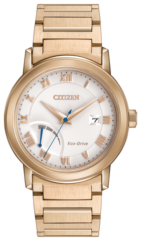 ** NEW SLIGHTLY SCRATCHED 25% OFF **  BAND & PINS COMBO: Citizen Watch Bracelet Rose Gold Tone Stainless Steel Part # 59-S06664 With Band to Case Pins