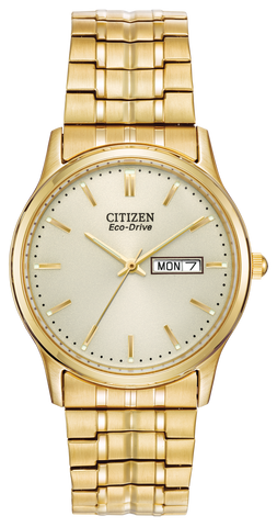 BAND & PINS COMBO: Citizen Watch Bracelet Gold Tone Expansion Stainless Steel Part # 59-S03701(SAME AS 59-S05536)  with Band to Case Pins