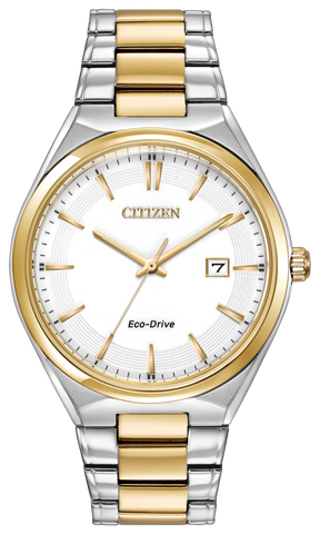 BAND & PINS COMBO: Citizen Watch Bracelet Two Tone Stainless Steel Part # 59-S05764 With Band to Case Pins