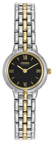 BAND & PIN COMBO: Citizen Watch Bracelet Two Tone Stainless Steel Part # 59-K00479 With Band to Case Pins