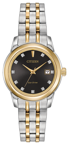 ** NEW SLIGHTLY SCRATCHED 25% OFF **  BAND & PINS COMBO: Citizen Watch Bracelet Two Tone Stainless Steel Part # 59-R00412 With Band to Case Pins