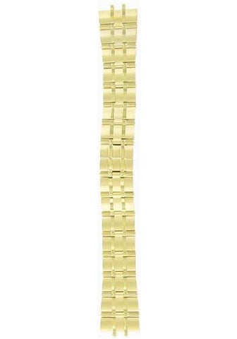 BAND & PINS COMBO: Citizen Watch Bracelet Gold Tone Stainless Steel Part # 59-H1408 With Band to Case Pins