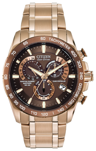 BAND & PINS COMBO: Citizen Watch Bracelet Rose Gold Tone Stainless Steel Part # 59-59-S05421 With Band to Case Pins